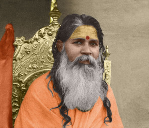 The Shankaracharya of Jyotir Math, His Holiness Shantanand Saraswati
